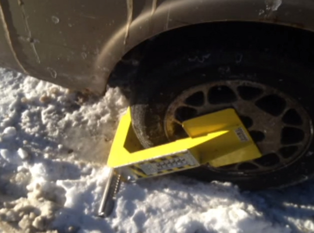D.C. clamps down to prevent parking boot theft