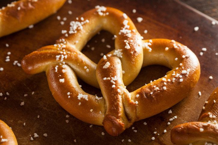 business finance where free pretzels national pretzel