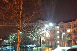 snow in Herndon
