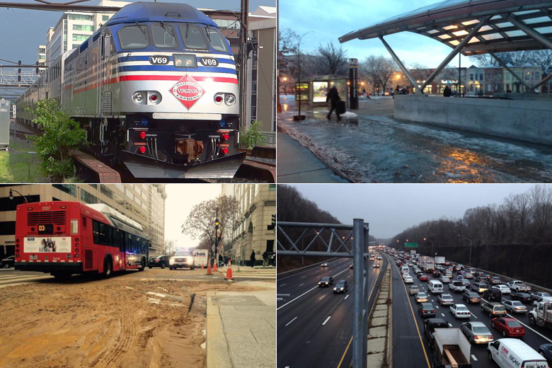 D.C. area sees fewer taking public transit
