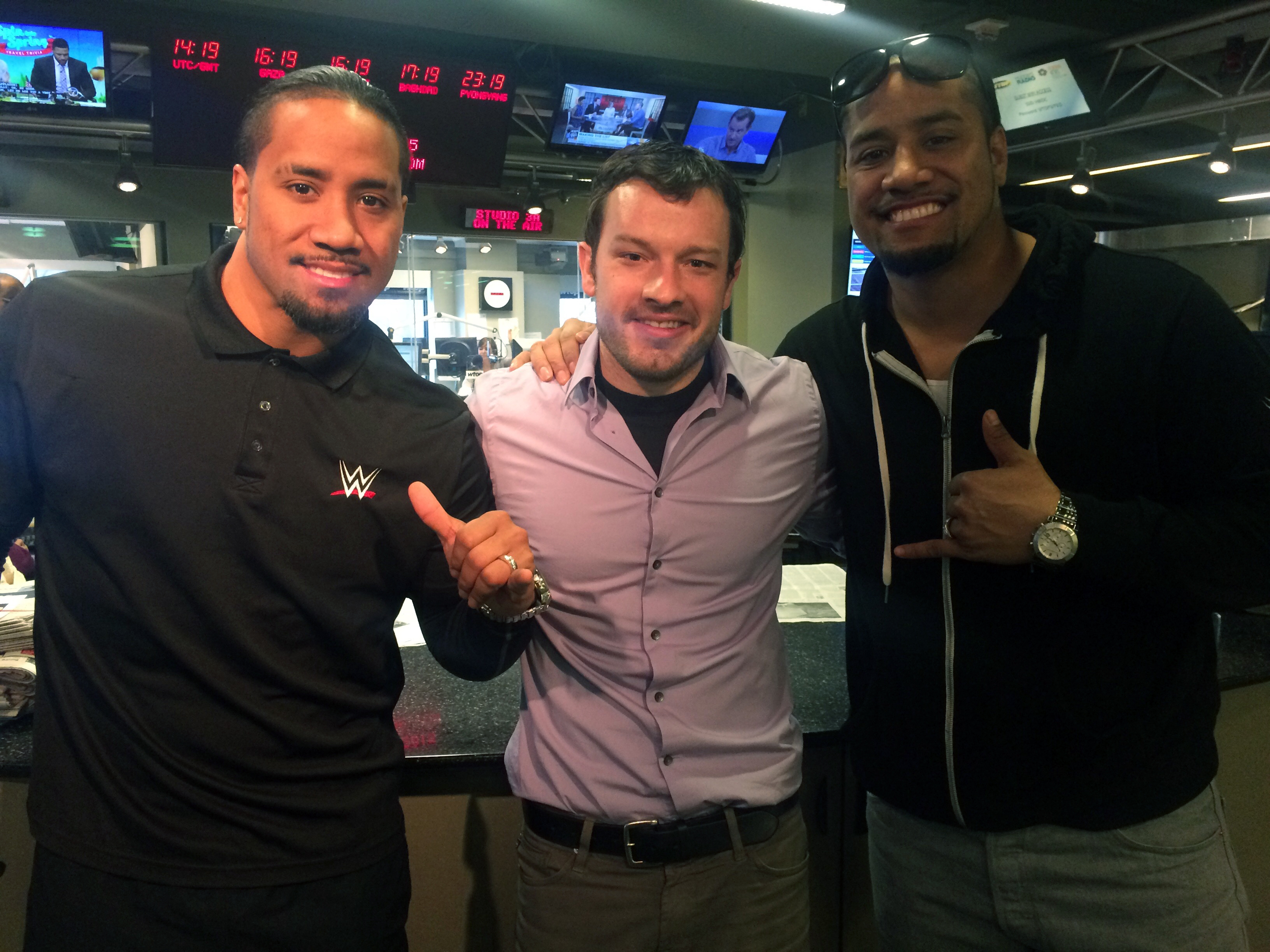 Tag team twins visit WTOP as 'WWE Smackdown' hits Verizon Center
