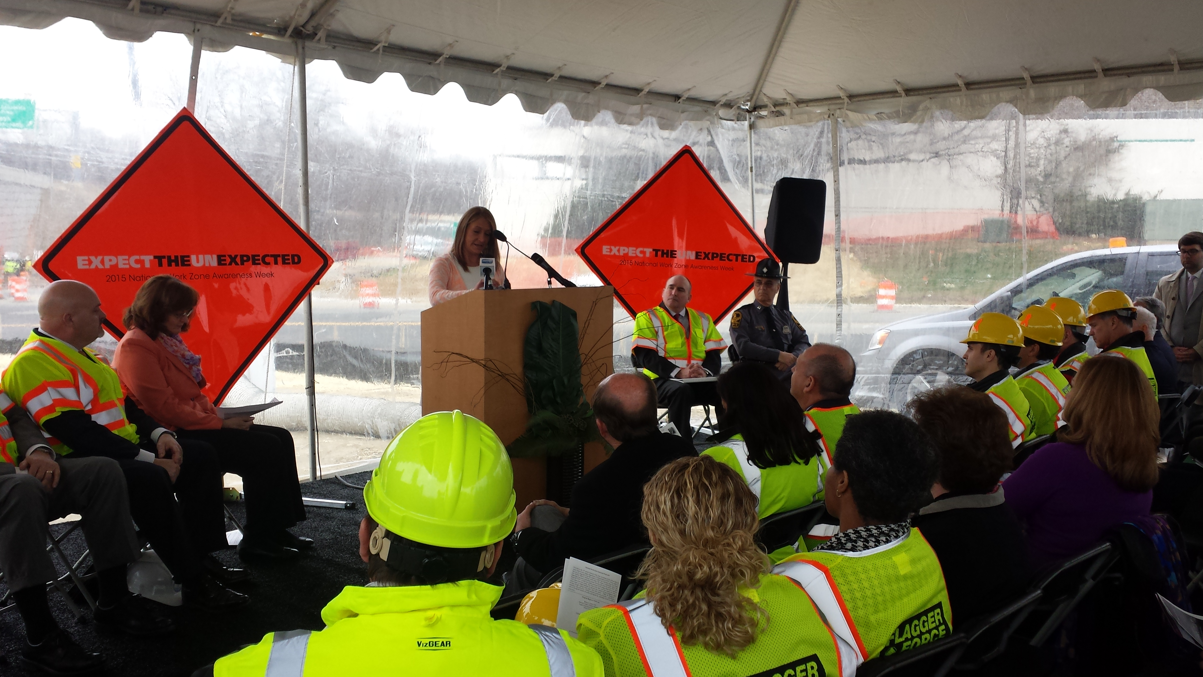 Families stress safety during National Work Zone Awareness Week