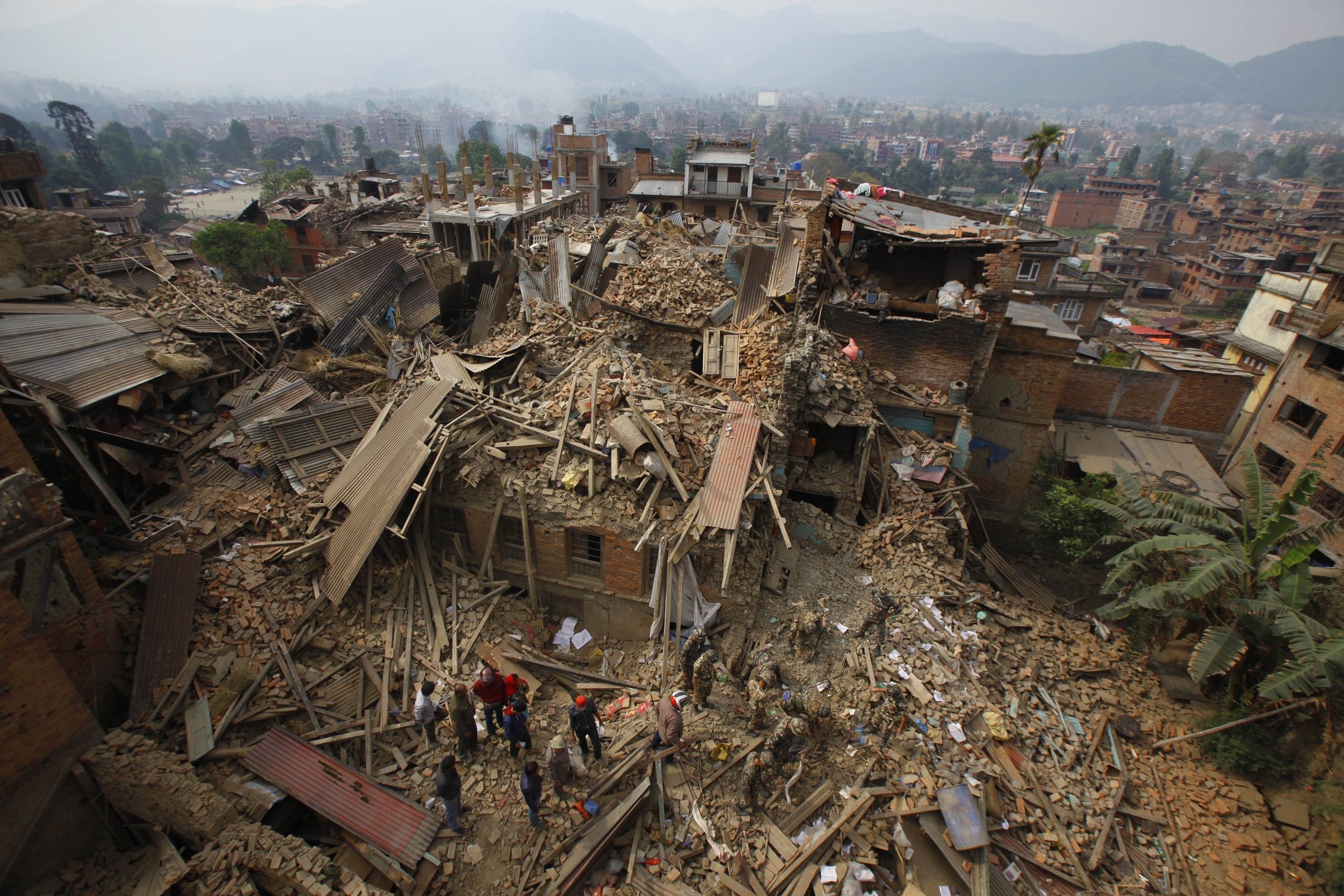 Md. woman works to aid family, other quake survivors in Nepal