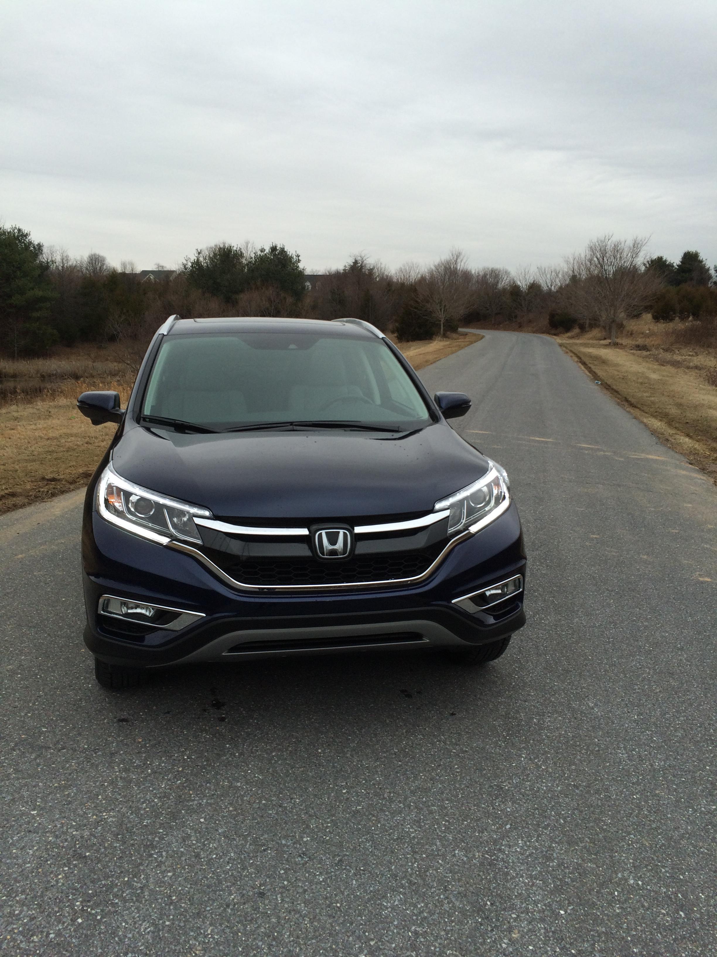 Car Report: Honda refreshes the popular CR-V for 2015