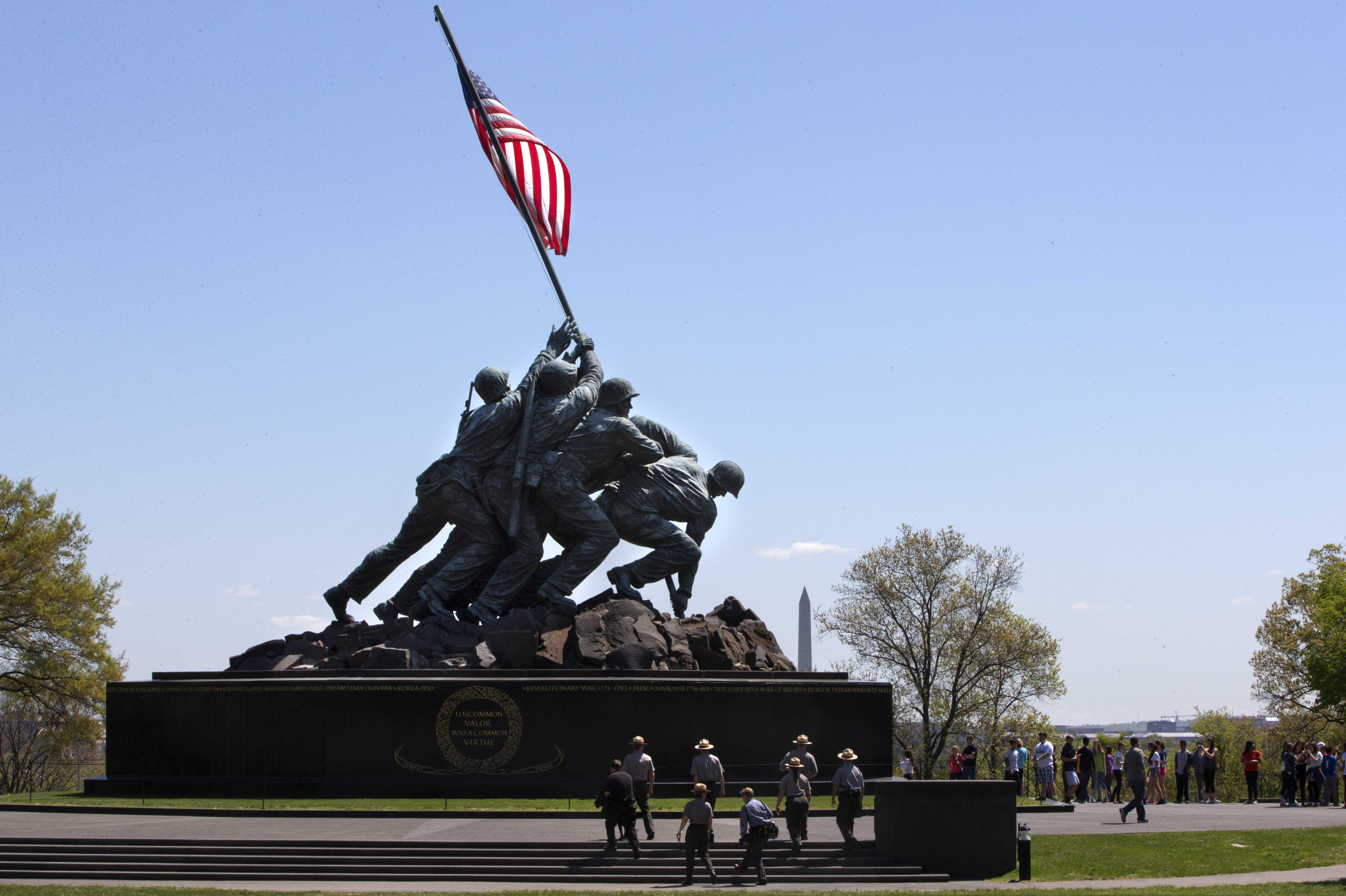 Marine Corps Memorial renovation complete just in time for 75th anniversary of Iwo Jima flag-raising