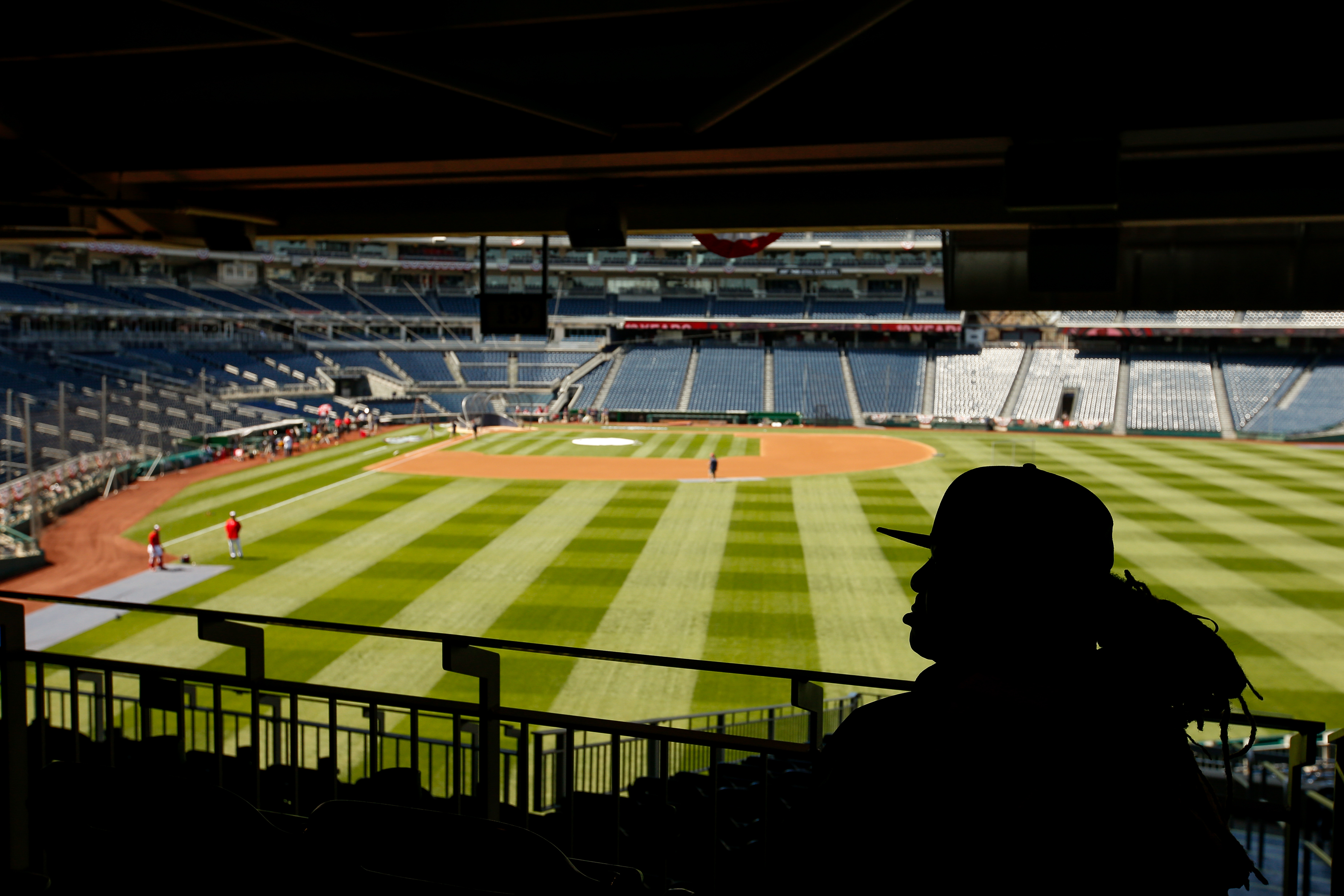 Nationals Park offers respite from weekend heat