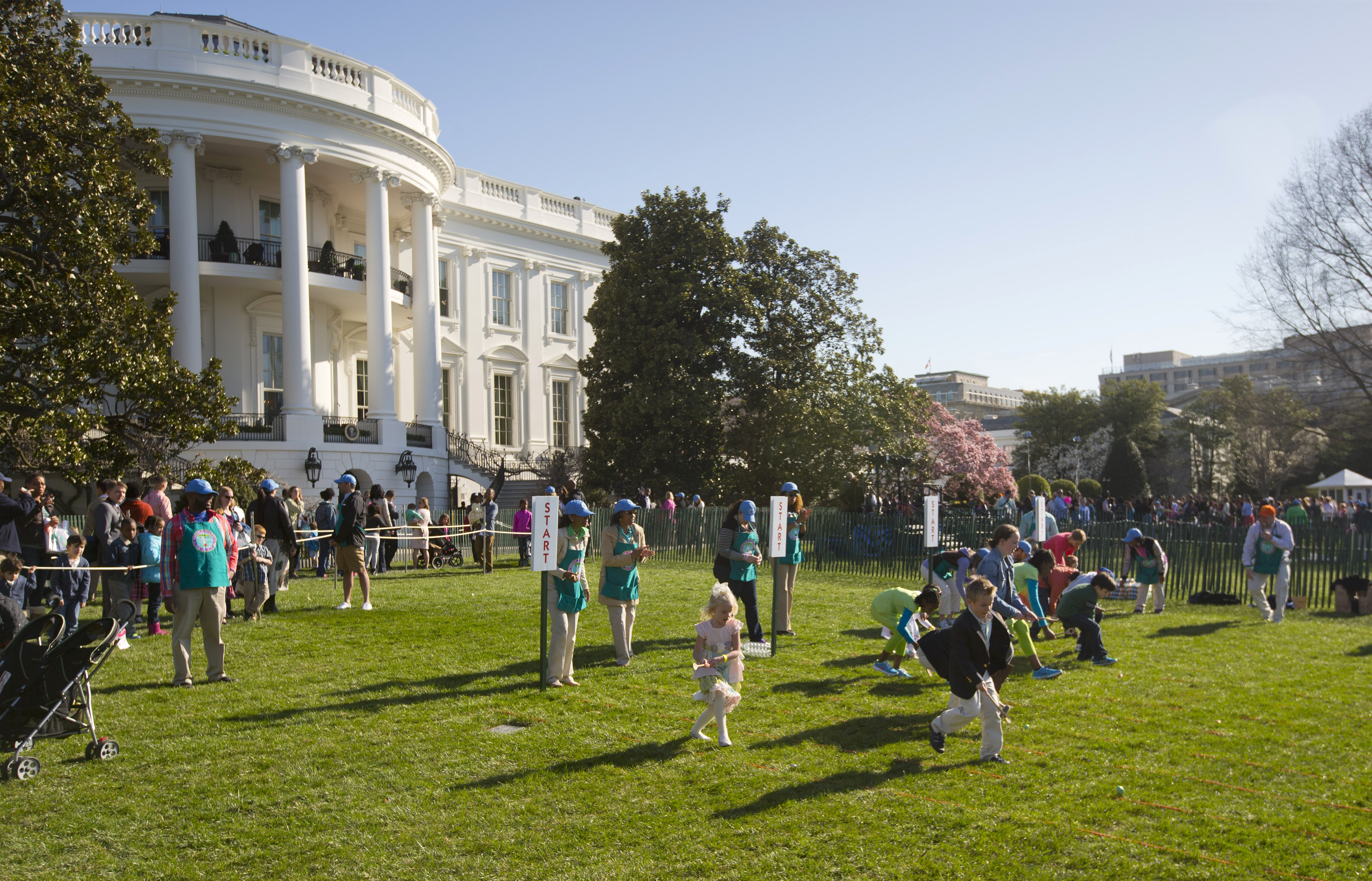 Your chance to nab White House Easter Egg Roll tickets