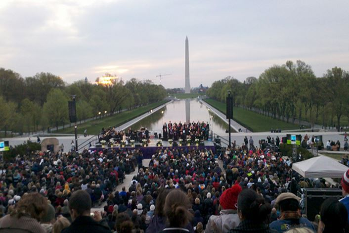 Thousands expected to attend Easter Sunrise Service at the Lincoln Memorial