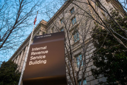 FILE- In this April 13, 2014 file photo, the Internal Revenue Service Headquarters (IRS) building is seen in Washington. Wednesday, April 15, 2015, is the deadline for filing income tax returns, a day long associated with the dread of rushing to fill out complicated forms and, perhaps, making a payment to Uncle Sam. But for most, it's not that bad. Aside from the complicated forms, tax season generates $300 billion in tax refunds each year, a significant boost to the U.S. economy.  (AP Photo/J. David Ake, File)
