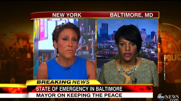 Baltimore Mayor Stephanie Rawlings-Blake Defends Barring Fans from Orioles Game