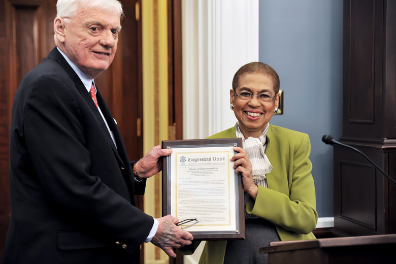 Congress honors WTOP's McConnell for 50 years