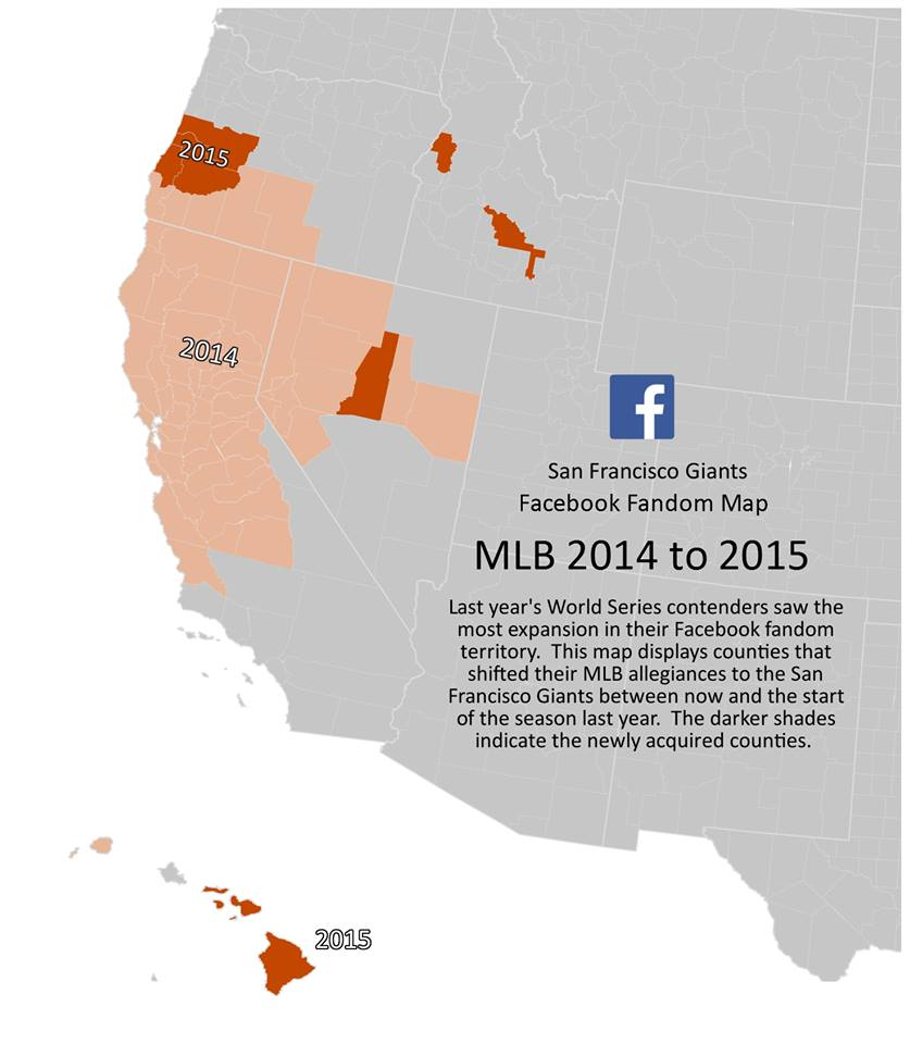 Where do Nationals Orioles fans really live Facebook maps out