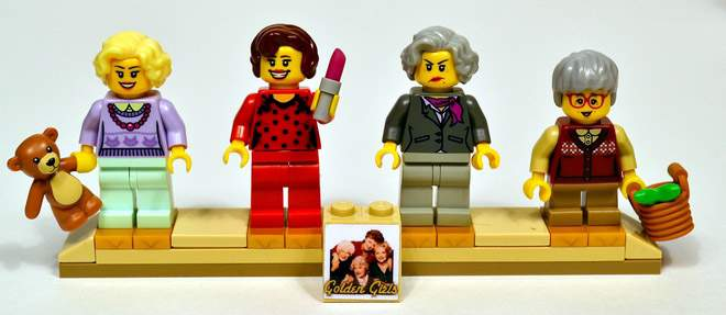 'Golden Girls' Lego set could become reality