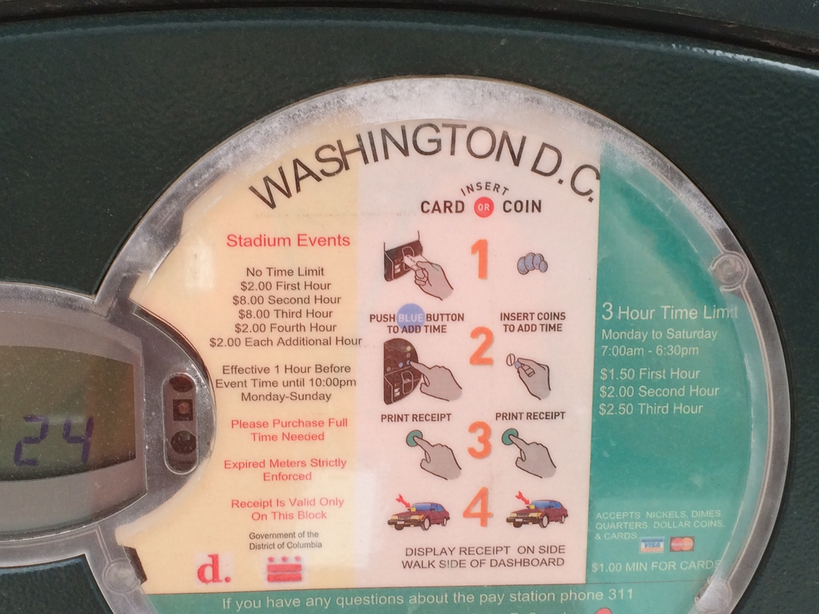Feed the meter to watch the Nats on July 4
