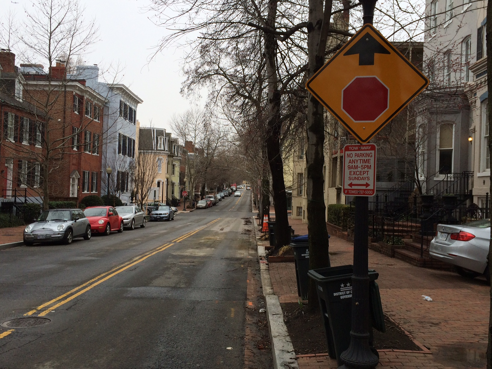 D.C. admits Sunday parking sign is wrong