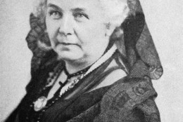 Shown in an undated photo are head and shoulder shots of Elizabeth Cady Stanton. Mrs. Stanton helped organized the world?s first women?s rights convention which met in Seneca Falls, New York in 1848. She became first President of National Women?s Suffrage Association and held that office from 1869-1890. (AP Photo)