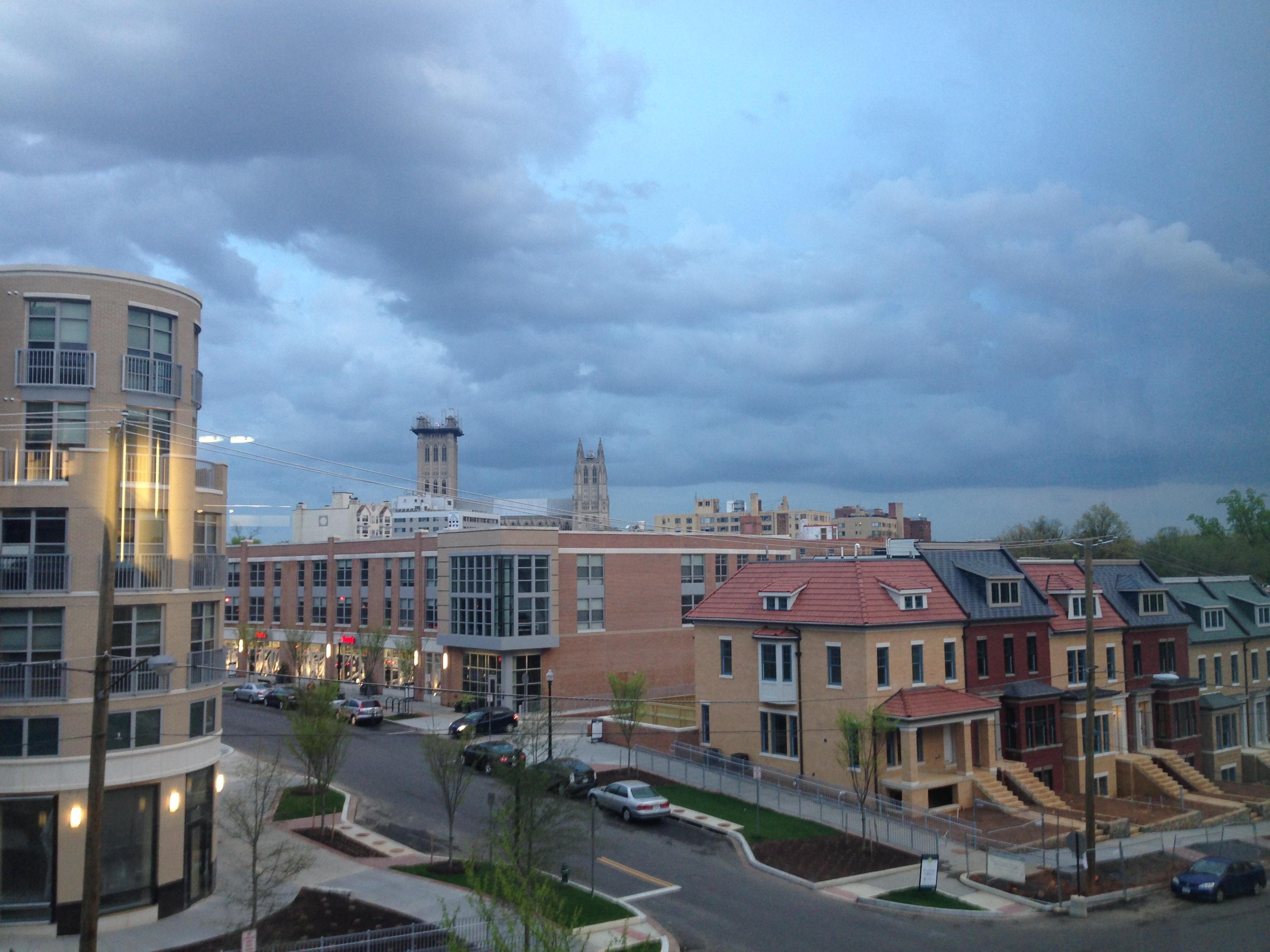 Gallery: Stormy skies, rainbows hit D.C.