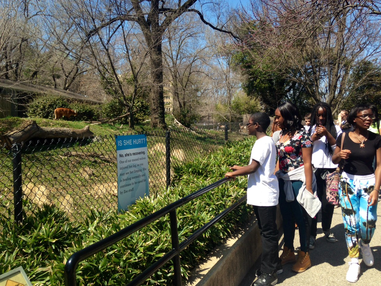 Zoo increases security for annual Easter Monday event