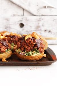 Barbecue jackfruit sandwiches. Courtesy Minimalist Baker. Recipe below.