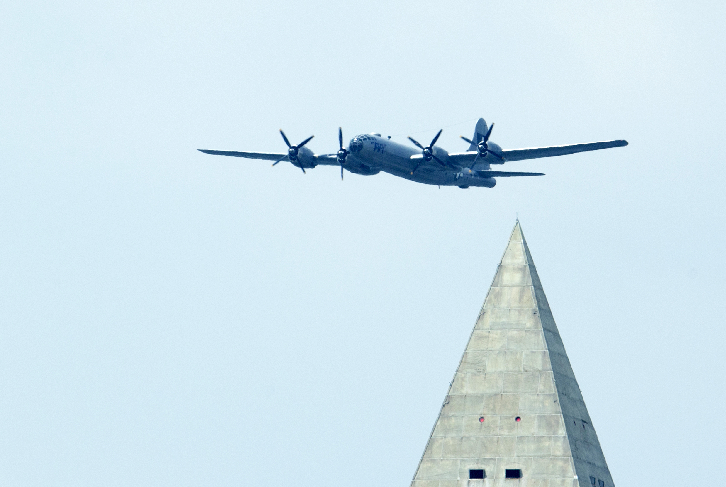 Photos: WWII warbirds rumble over D.C. area