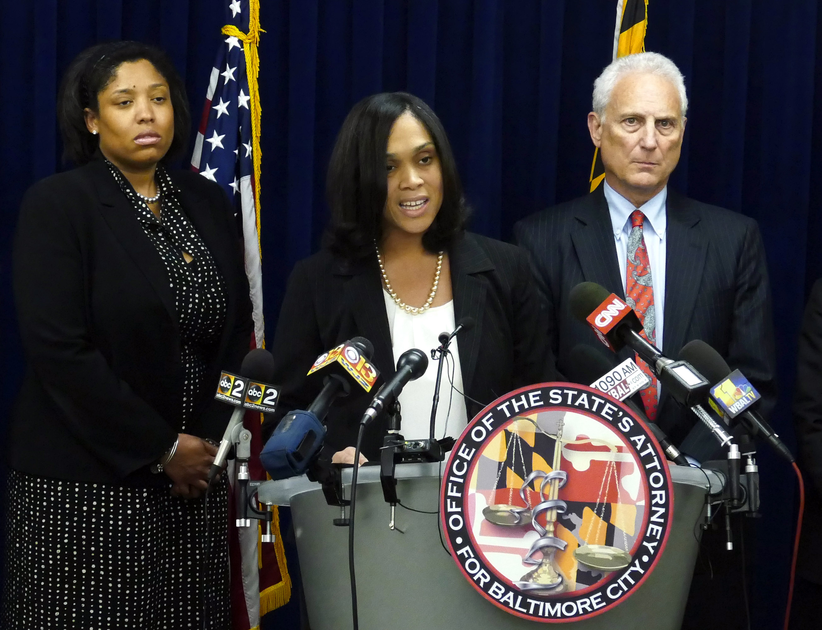 Judge to dismiss some claims in Baltimore officers' lawsuit