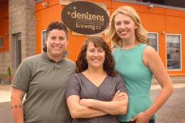 Three of the four founders of Denizens Brewing Company are women. D.C. is seeing a growing number of women leading the food and beverage industries. (Courtesy Denizens Brewing Company)