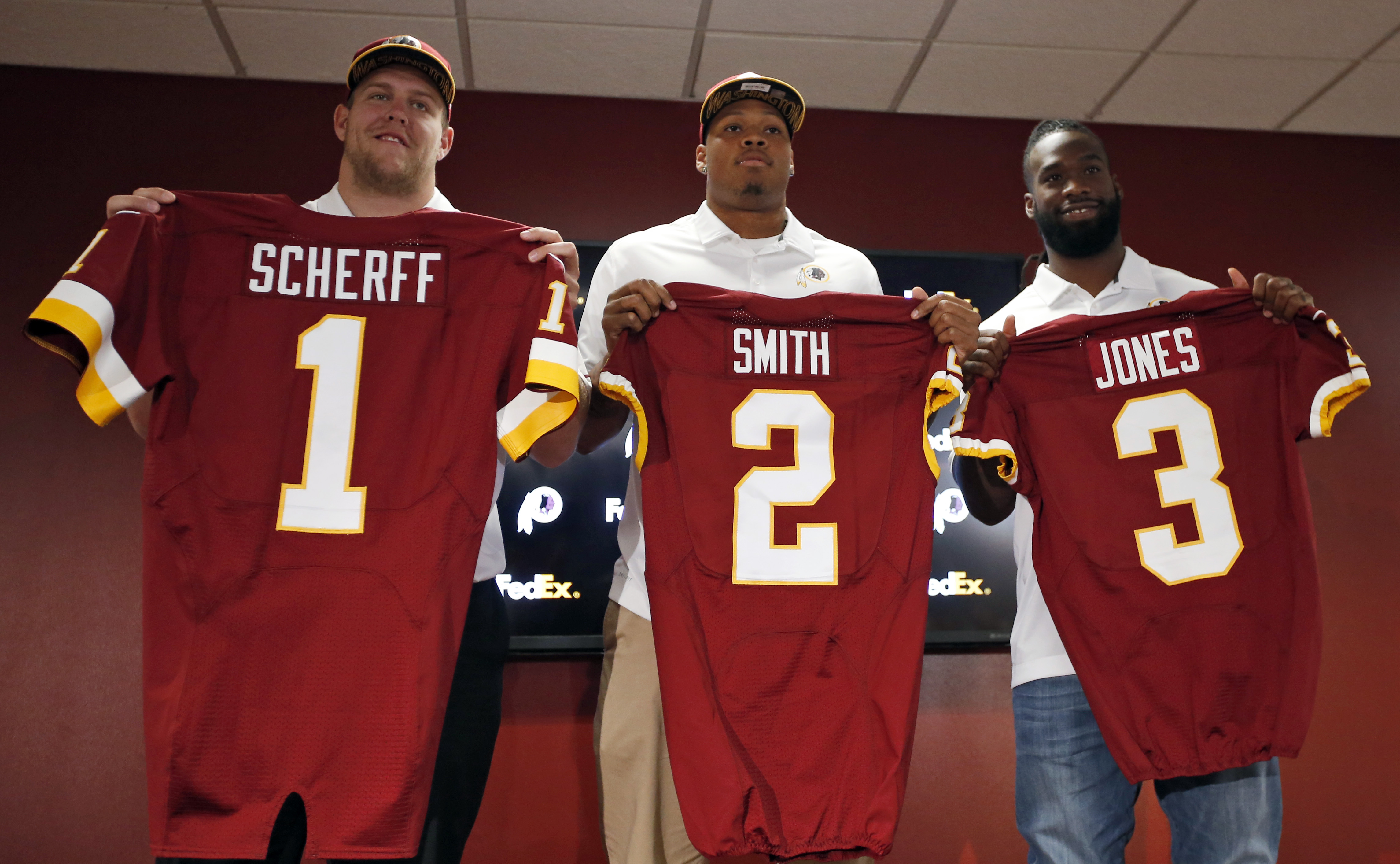 Washington Redskins Martrell Spaight GAME Jerseys