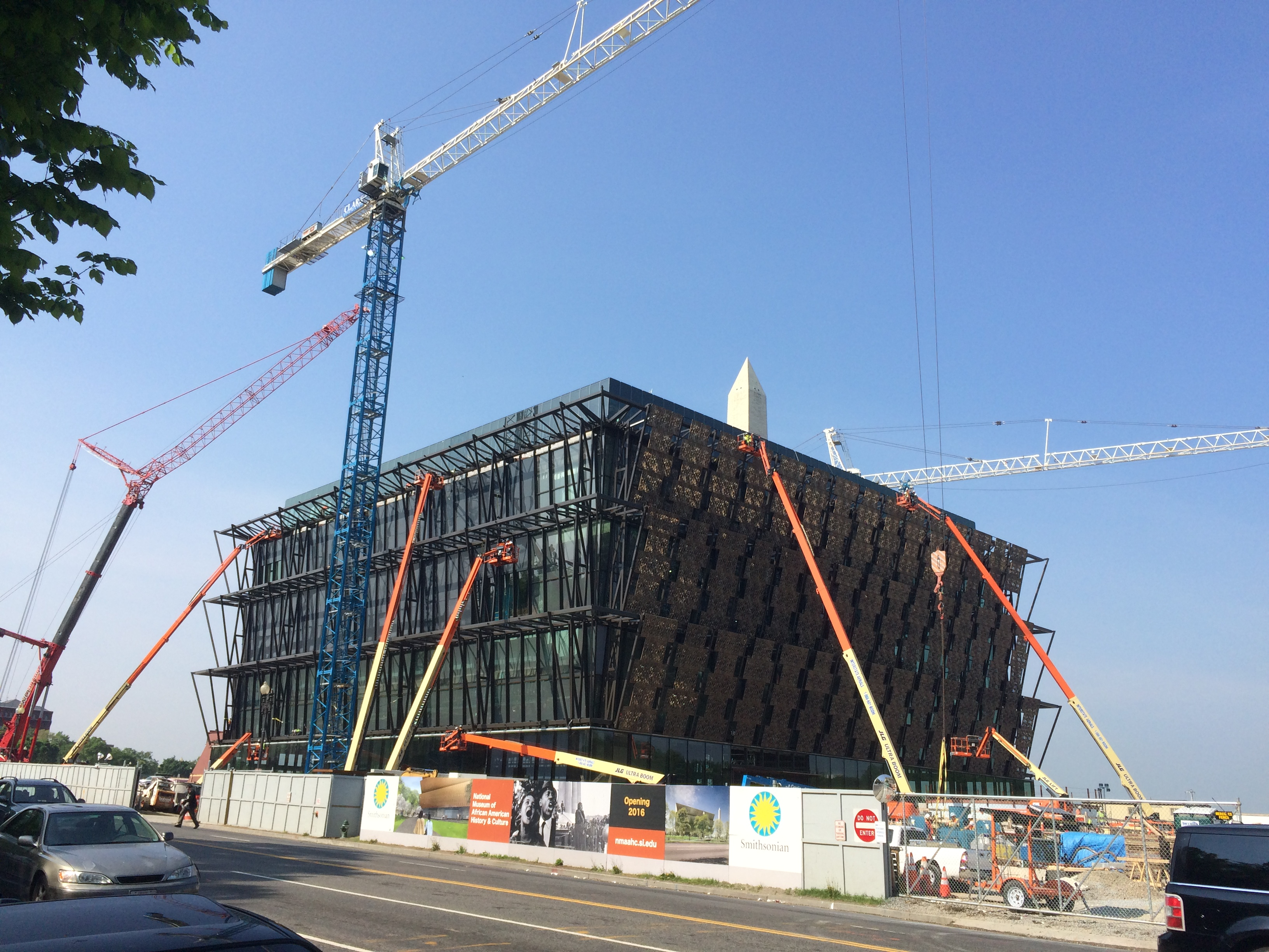 New museum on National Mall is 75 percent complete