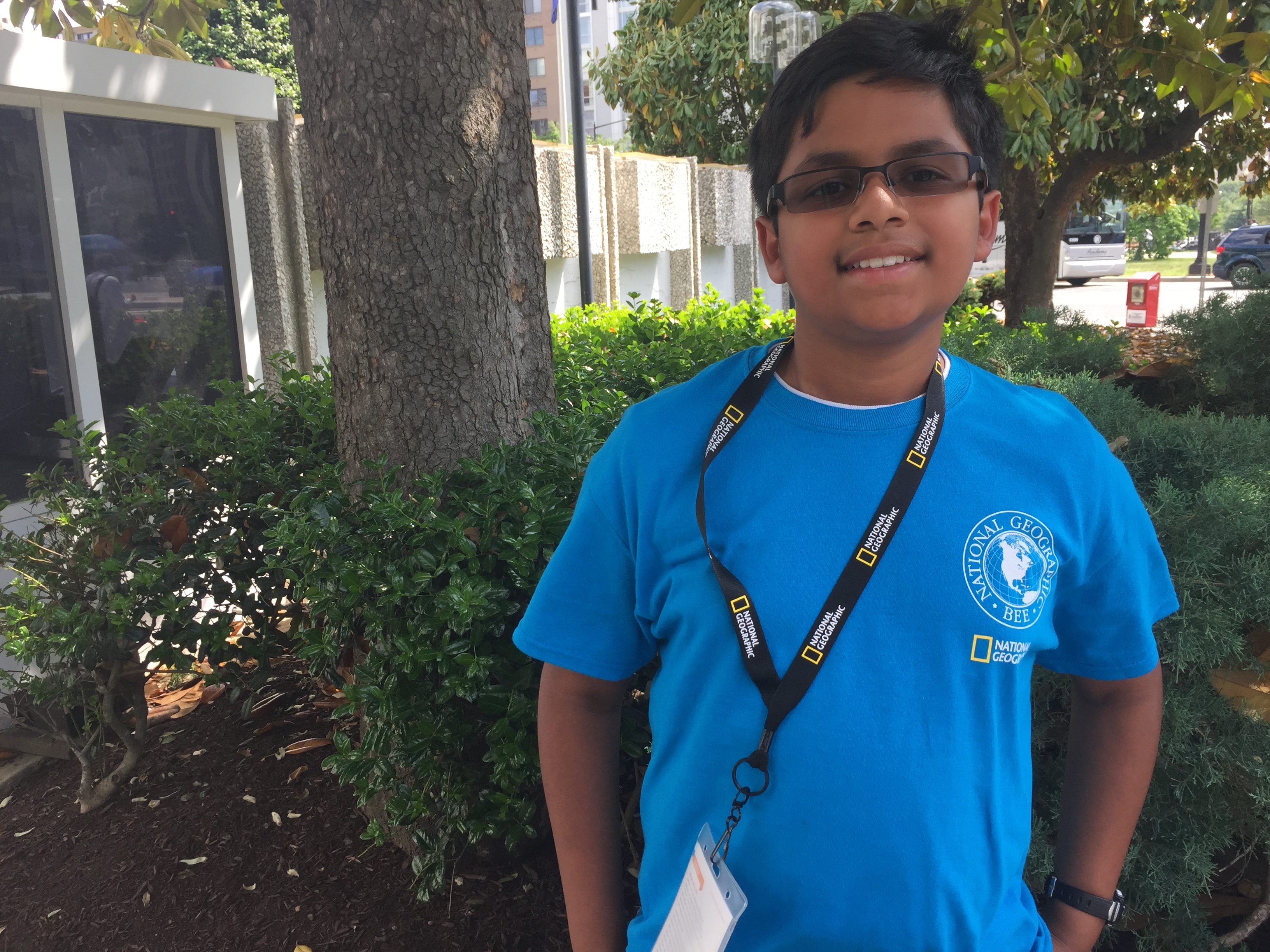 Student competing in National Geographic Bee knows his places (Quiz)