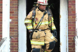 D.C. Fire and EMS provided this photo of Lt. Kevin McRae, who died Wednesday after battling an apartment building fire. He collapsed outside the building and was rushed to the hospital. (Courtesy D.C. Fire and EMS)