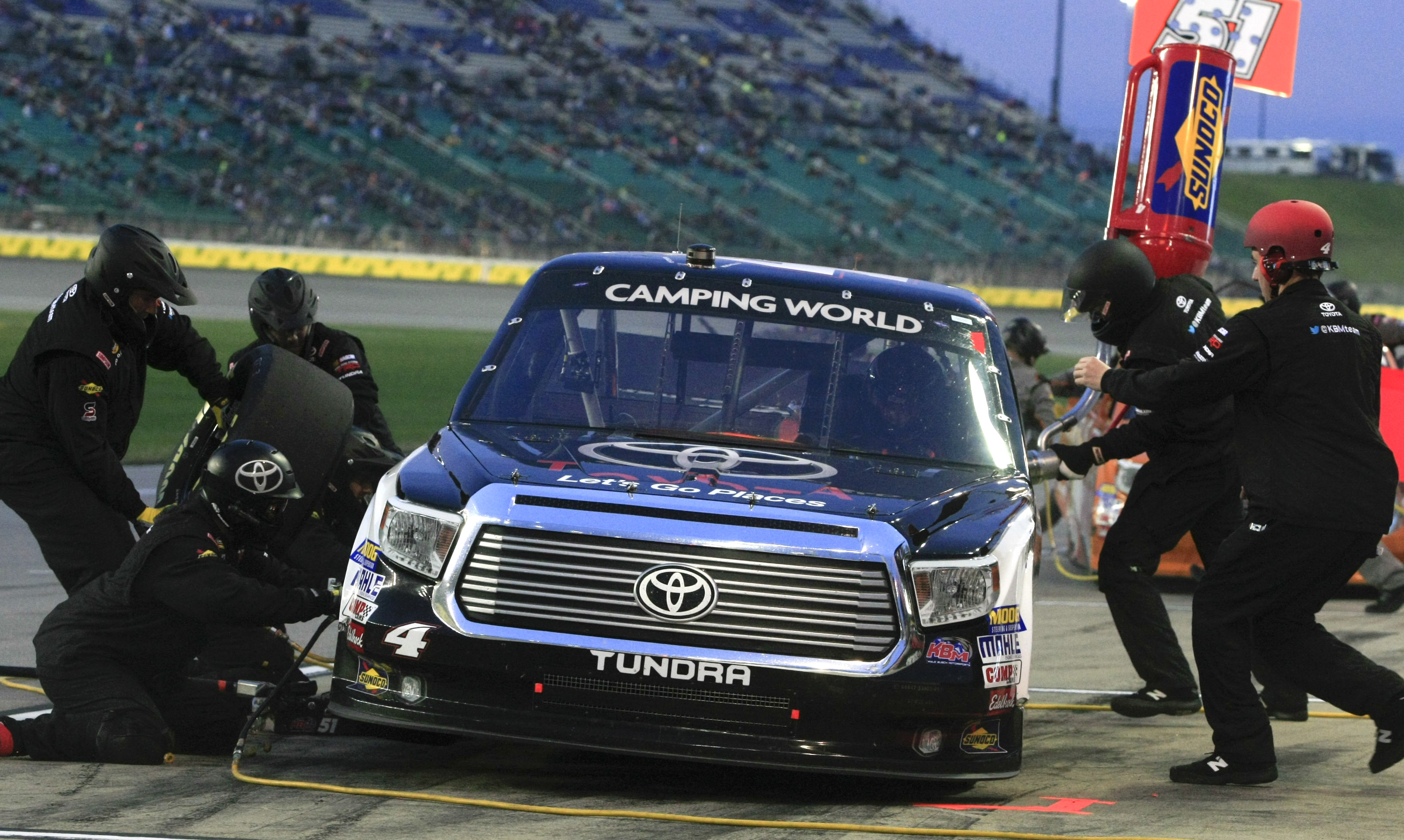 Crafton Conserves Enough Fuel To Win Trucks Series Race Wtop