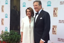 House Minority Leader Nancy Pelosi attended the gala Sunday, May 31, 2015, which benefits the Ford's Theatre Society. (WTOP/Jason Fraley)