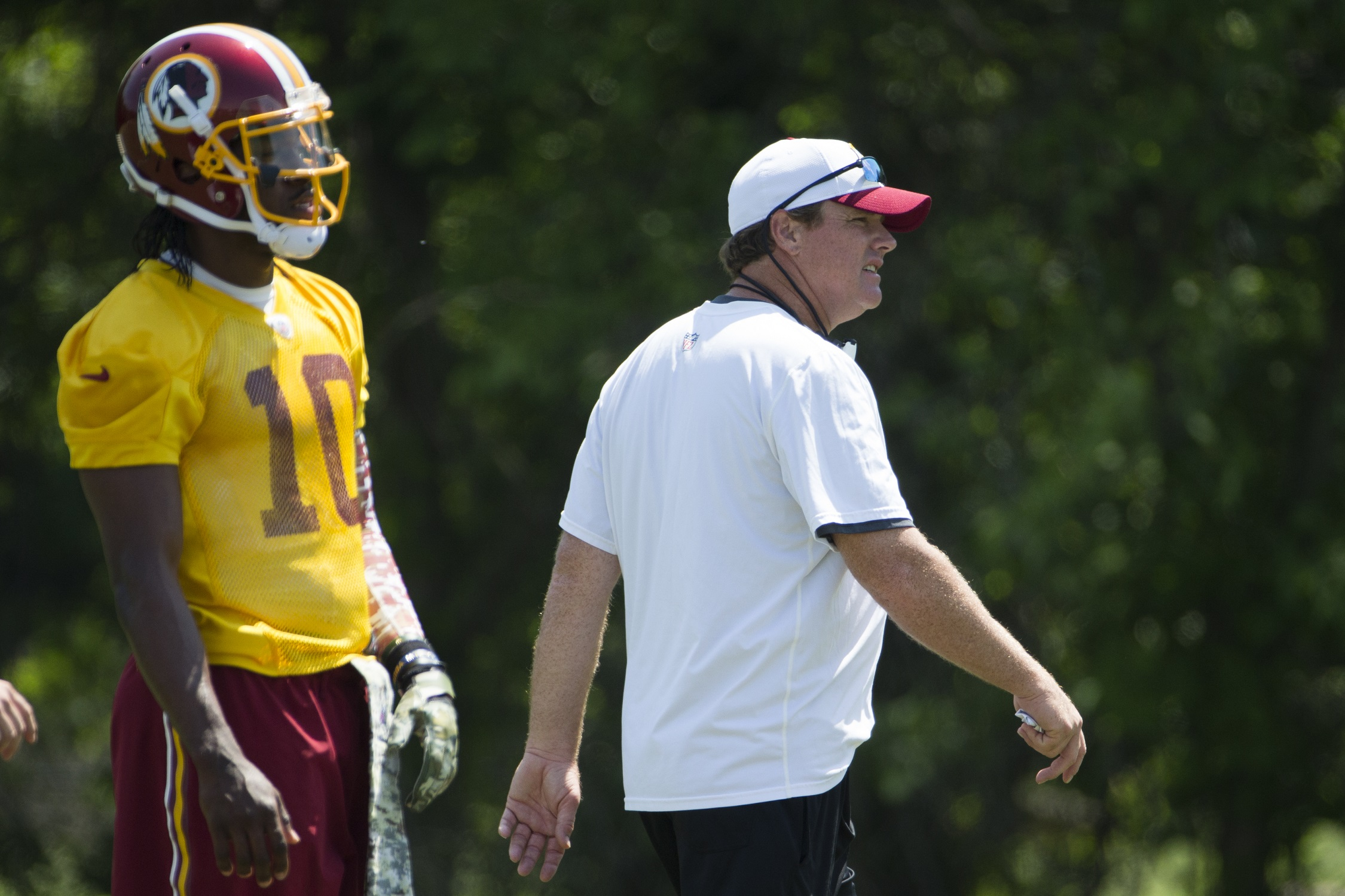 Redskins start anew on Day 1 of OTAs