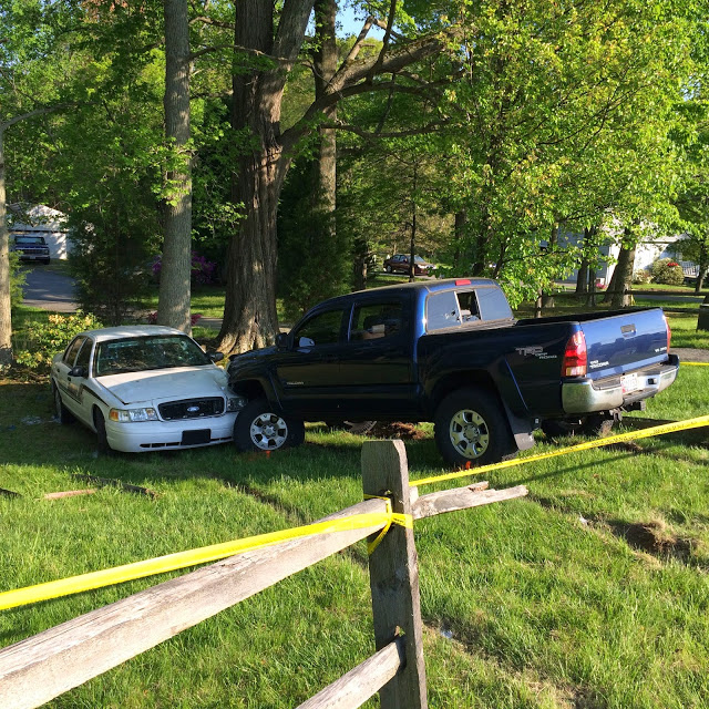Calvert County woman who ran officer off road charged with assault