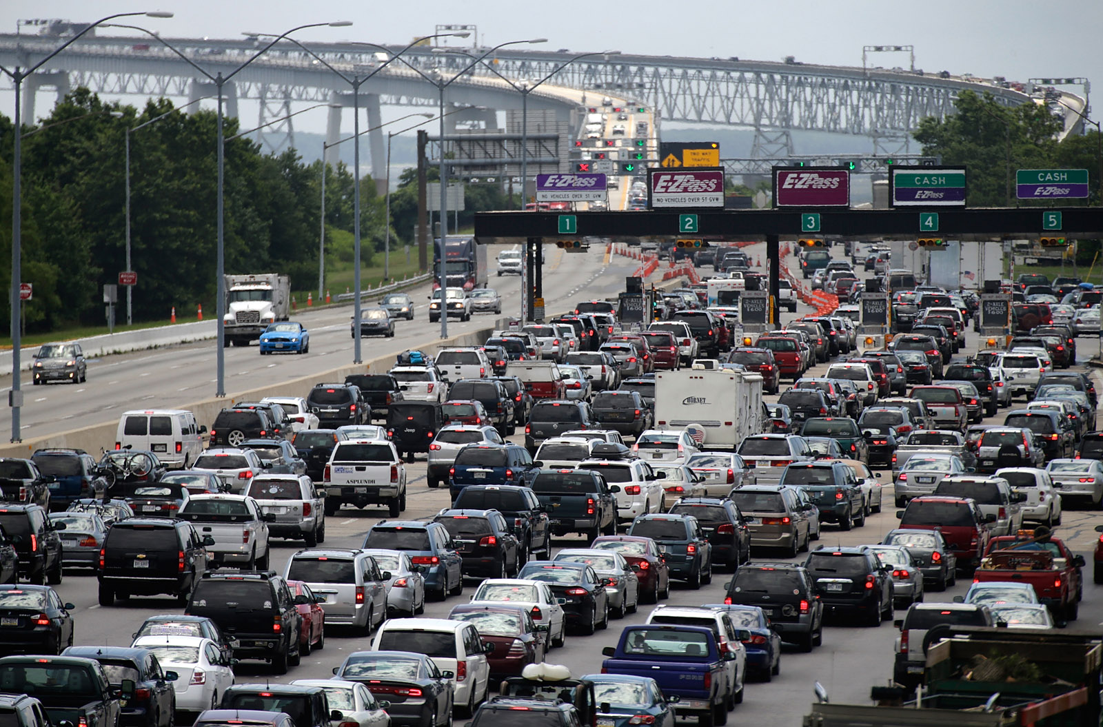 Best Times To Leave For Labor Day Getaway WTOP - Washington dc traffic map