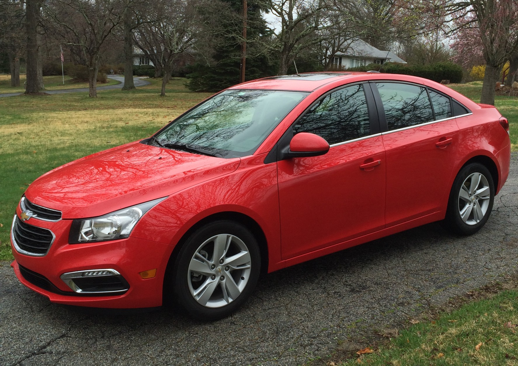 The 2015 Chevrolet Cruze Diesel delivers a comfortable ride and high miles per gallon. (WTOP/Mike Parris)