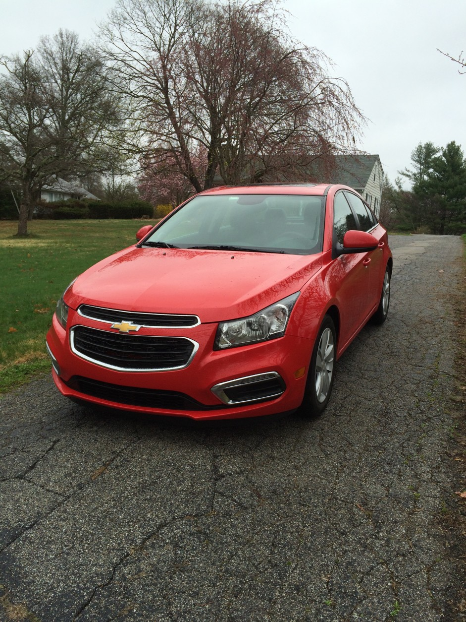 Chevrolet has updated the front-end styling slightly with LED running lights. (WTOP/Mike Parris)