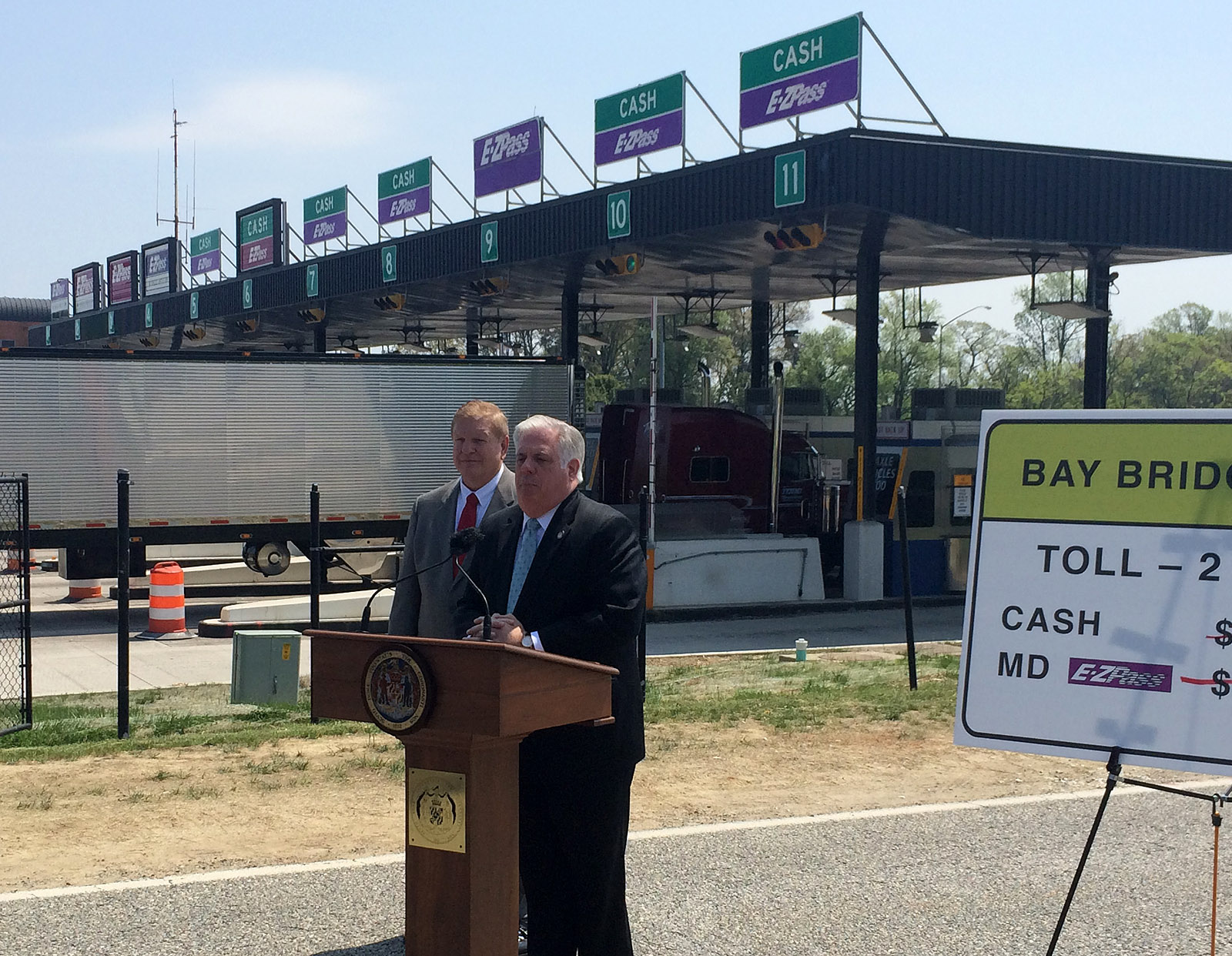 Maryland cuts tolls on Bay Bridge, ICC