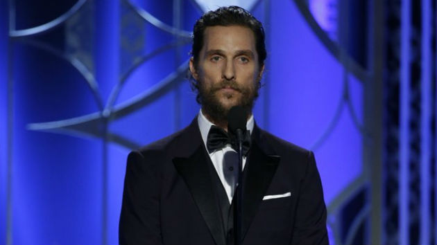 """Matthew McConaughey Launches """"Just Keep Livin'"""" Clothing Line"""