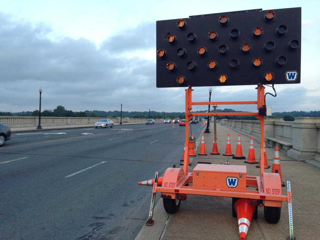 Arlington Memorial Bridge repairs bring closures, weight restrictions