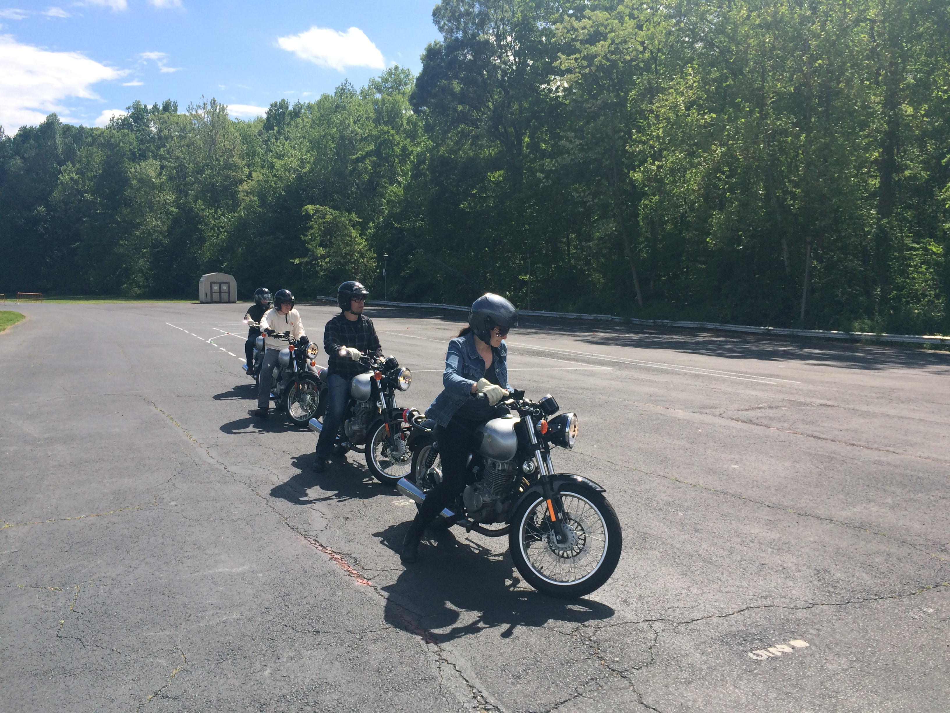 Safety tips for motorcyclists and drivers on area's congested roads