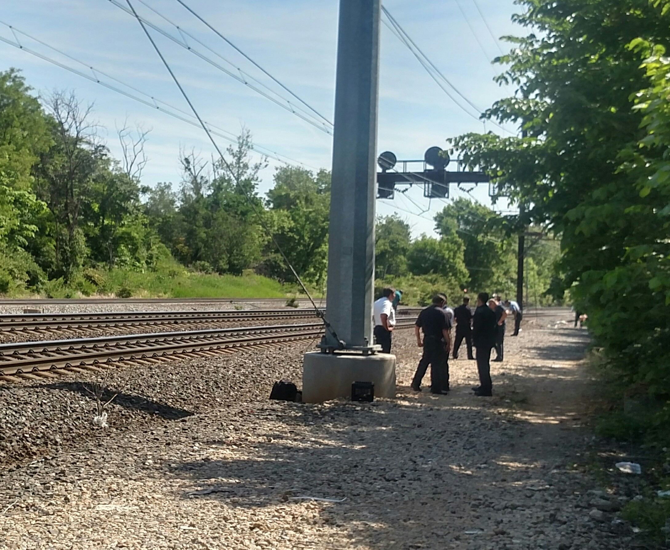 MARC's Penn Line service restored after person killed by train in Northeast D.C.
