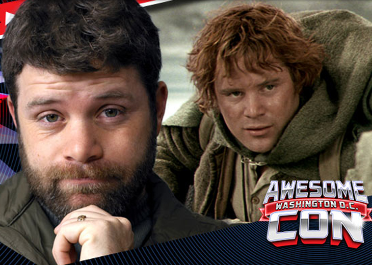 'LOTR' star Sean Astin hits DC for Awesome Con