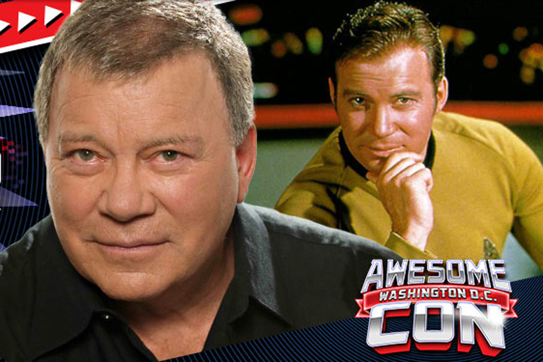 William Shatner treks to DC for wrath of Awesome Con