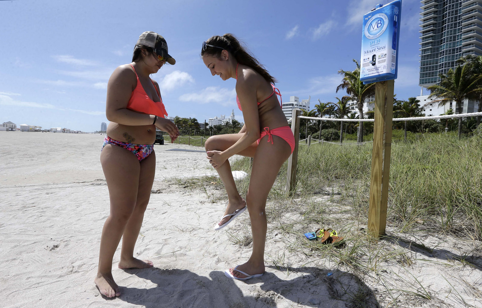 CDC: Americans not regularly using sunscreen