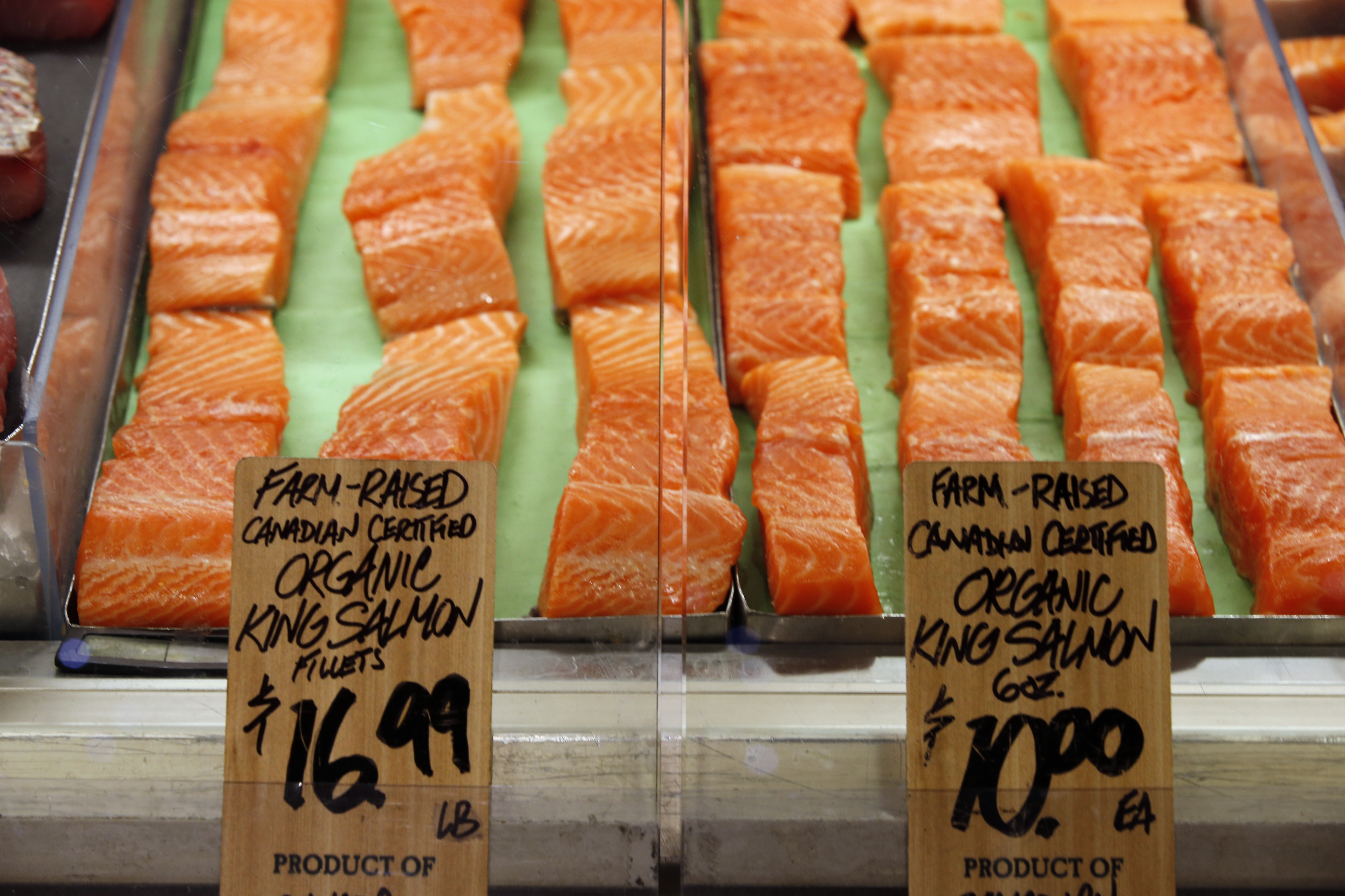 Wild Caught Salmon Whole Foods Price