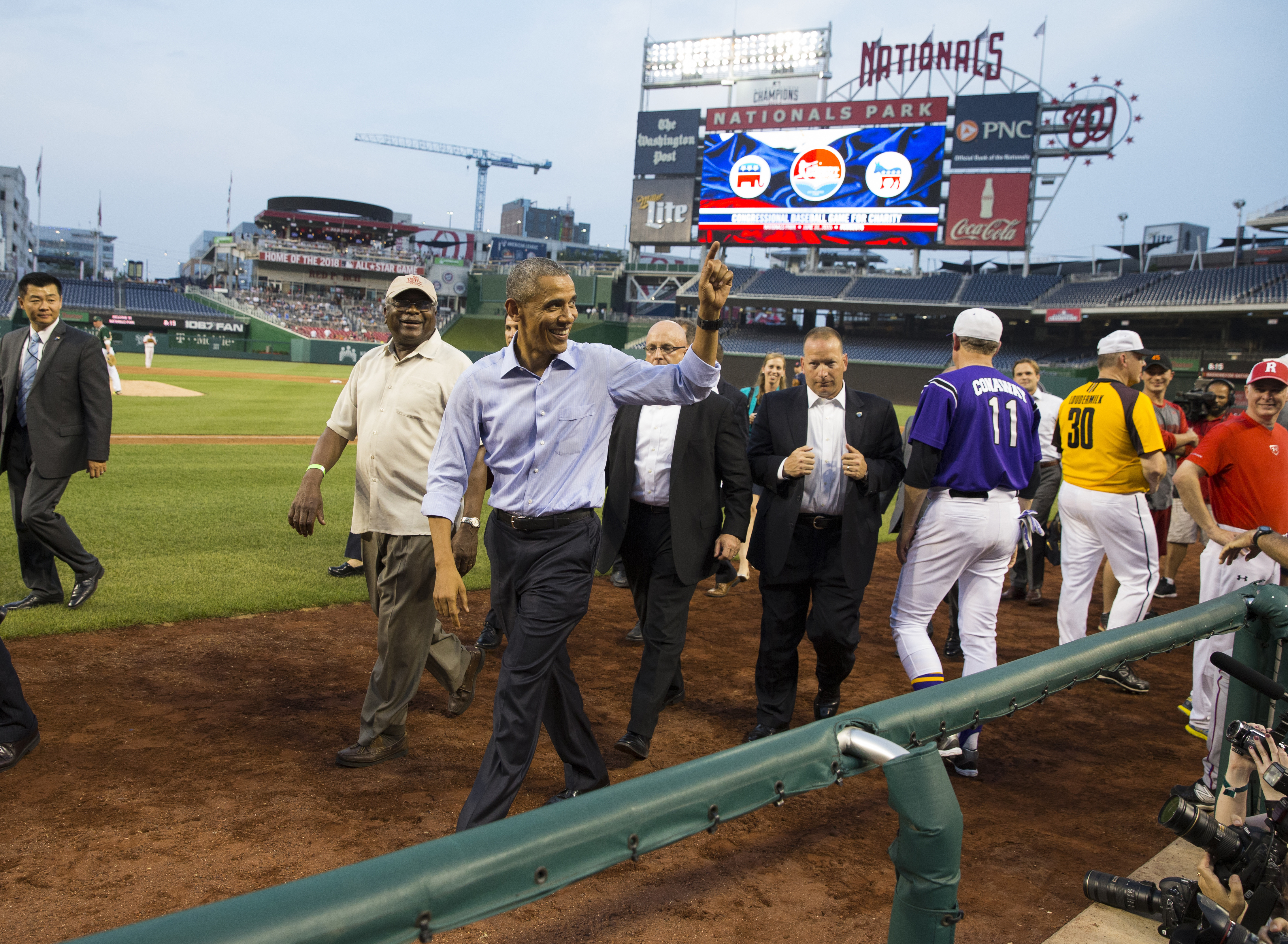 Democrats snag series lead in Congressional Baseball Game