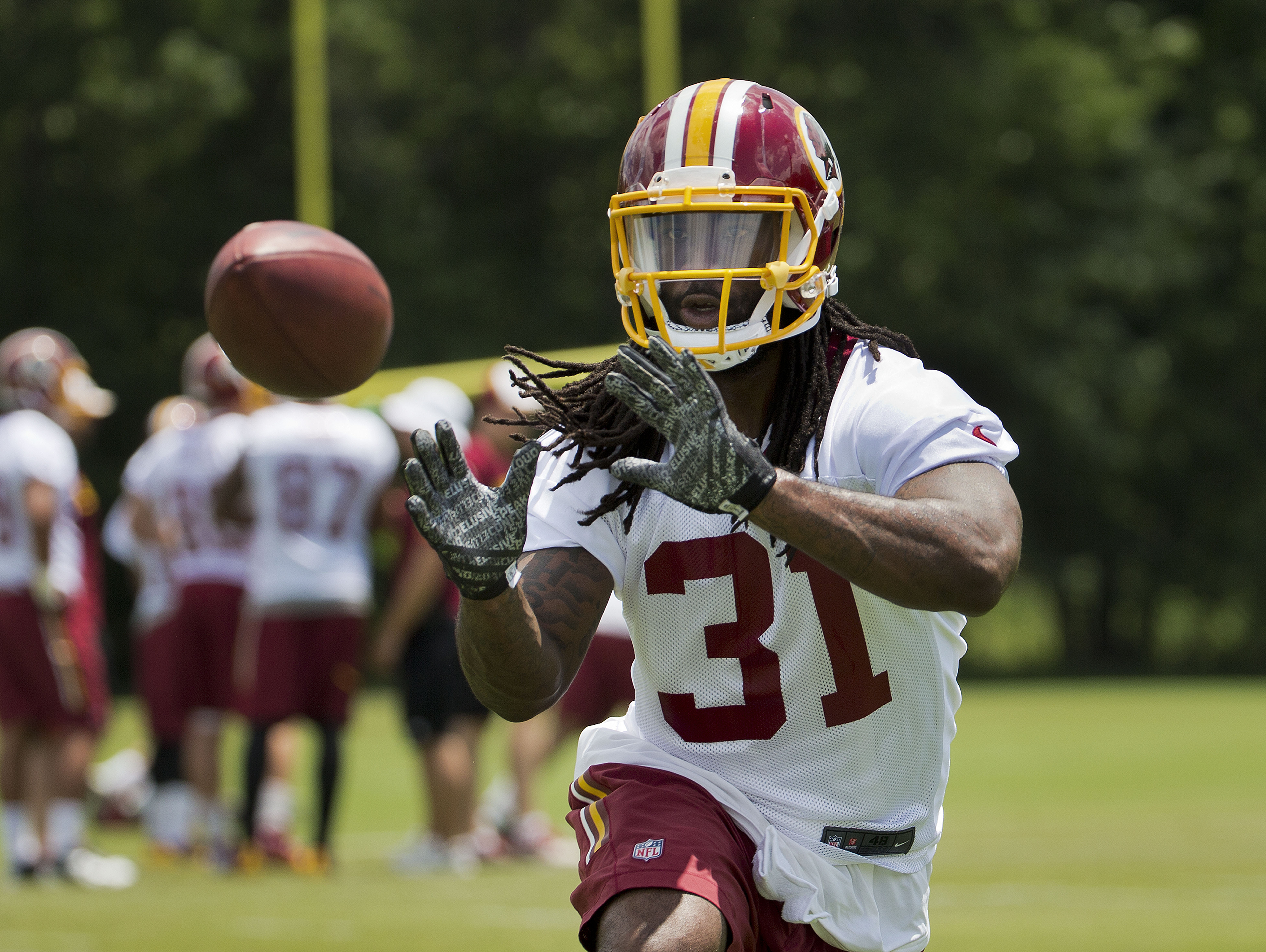 The Redskins open mandatory minicamp