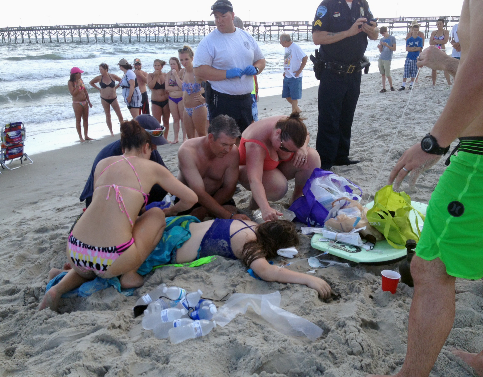 Beachgoers Lose Limbs In Shallow Water Shark Attacks