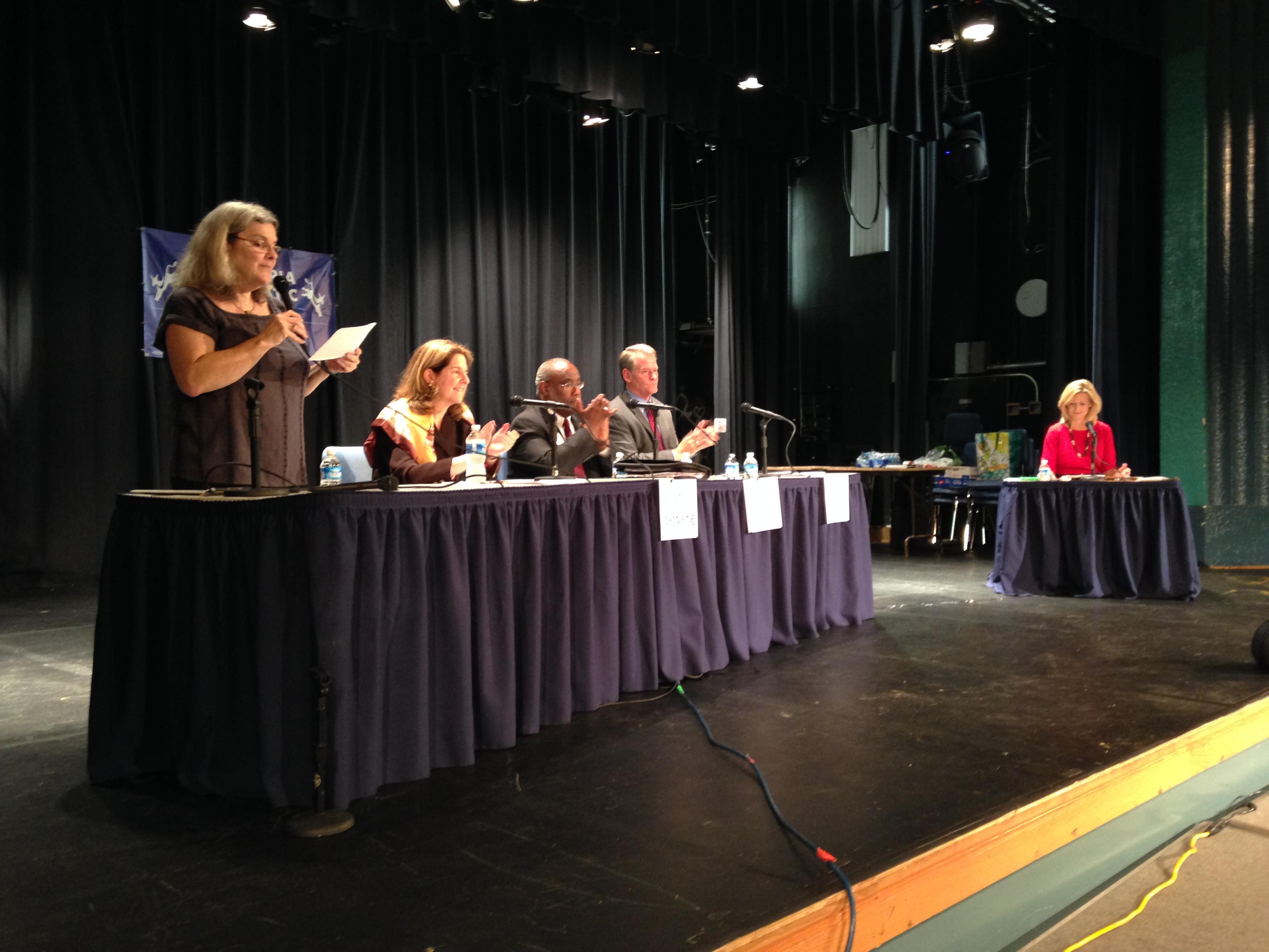 Alexandria mayoral candidates outline priorities at debate
